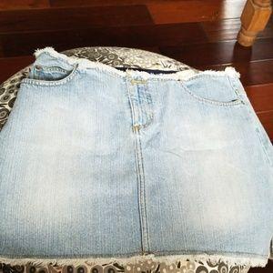 Size 11 denim skirt